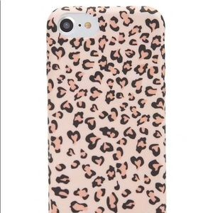 Accessories - Brand new iPhone leopard 6/7/8 case
